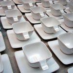 Realizácia návrhu šálky apodšálky,  MMP design.marketing communication, 2007  Kamenina